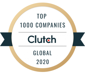 Rocket Clicks Clutch 2020 Global Award - Top 1000 Company