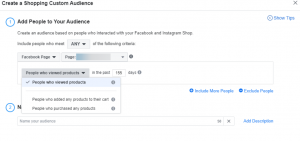 Guide to creating a custom audience in Facebook