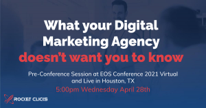 Get ready for our EOS® Pre-conference Digital Marketing Presentation