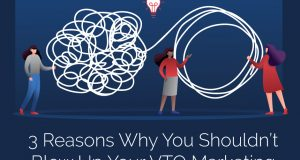3 Reasons not to Blow Up Your V/TO™ Marketing Strategy During a Crisis
