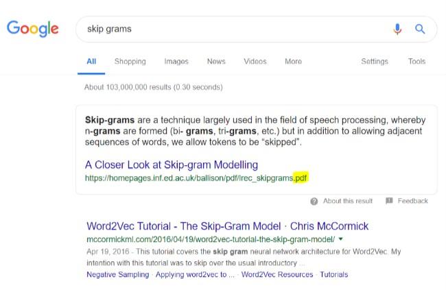 PDF in Google Snippet - Rocket Clicks