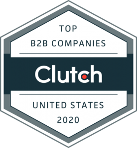 Clutch 2020 Top B2B Company