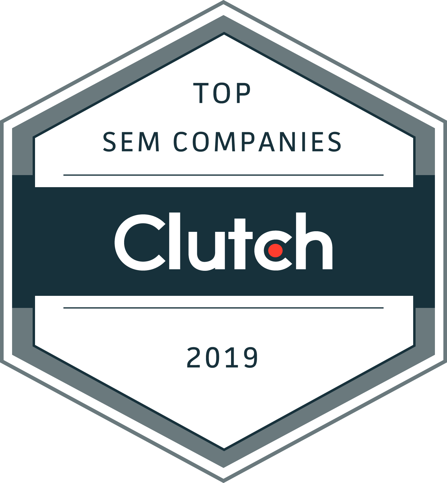 Rocket Clicks Receives Clutch Leader Award for 2019!